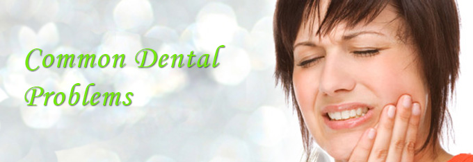 What are the most common dental problems?