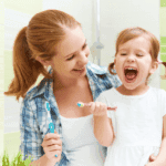 How to encourage children for good oral health?
